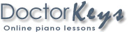 DoctorKeys.com Online Piano Lessons